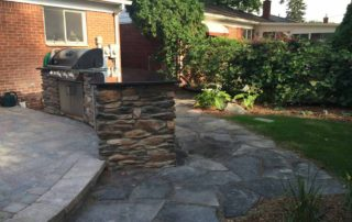 Canadian Flagstone Patio