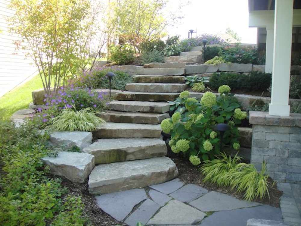 Natural Stone Step System