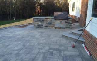 Unilock Bristol Valley Paver Patio & Steps