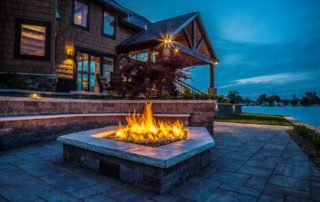 House & Fire Pit